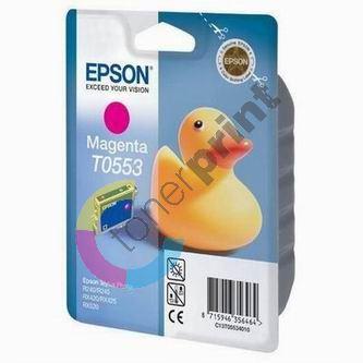 Cartridge Epson C13T055340, magenta, originál 1