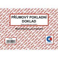 Příjmový pokladní doklad samopropis PT 020 / 50 listů jeden blok