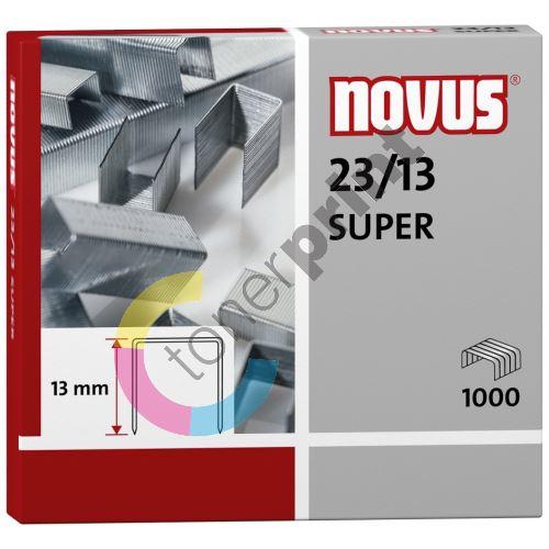 Spojovač Novus Super 23/13, drátky do sešívaček, 1000ks 1