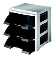Stohovací systém Leitz PLUS, černý