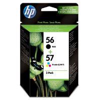 Cartridge HP 2-Pack, C6656 + C6657, SA342AE, originál