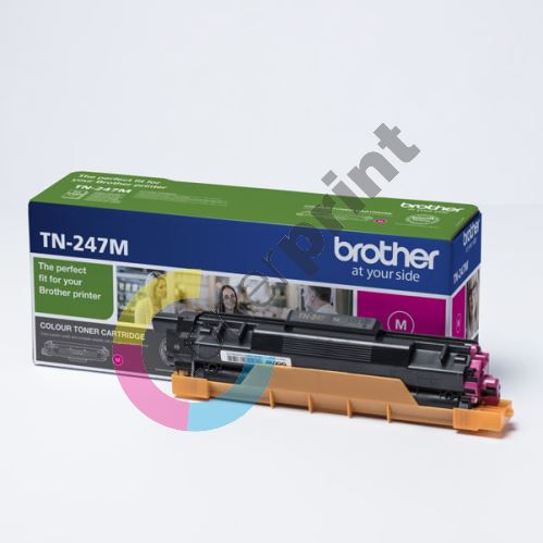 Toner Brother TN-247M, magenta, originál 1