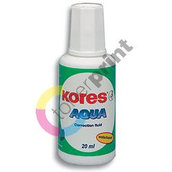 Korekční lak Kores AQUA 20 ml
