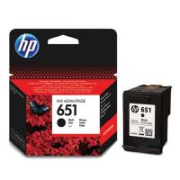 Cartridge HP C2P10AE, No.651, black, originál