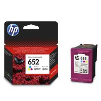 Cartridge HP F6V24AE, No.652, color, originál