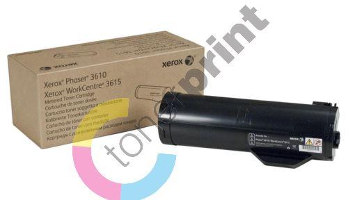 Toner Xerox 106R02721, black, originál