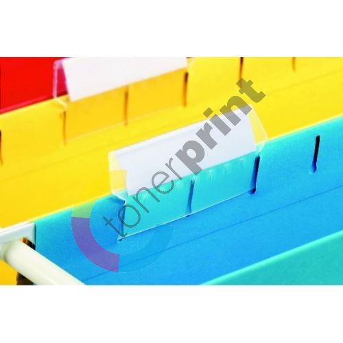 Štítky pro závěsnou registrační kartu Esselte Pendaflex A4 94514 1bal/25 ks 1