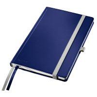 Zápisník Leitz STYLE A5, tvrdé desky, linkovaný, titanově modrý