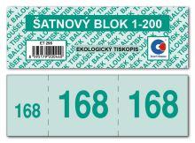 Šatnový blok ET295 1bal/200ks 2