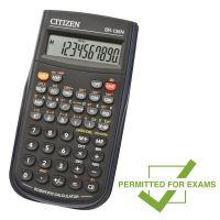 Kalkulačka Citizen SR135N, černá, vědecká, desetimístná