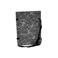 Deska spisová A4 mramor černá