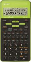 Kalkulačka Sharp EL-531THGR, zelená