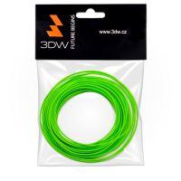 Tisková struna 3DW (filament) PLA, 1,75mm, 10m, fluozelená
