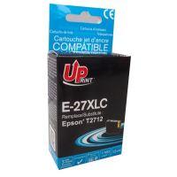 Cartridge Epson C13T27124010, 27XL, cyan, 1100str., 13ml, UPrint