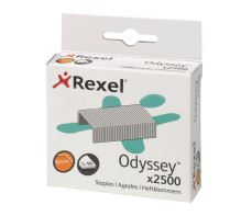 Spojovač Rexel Odyssey, drátky do sešívaček, 2500 kusů