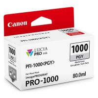 Cartridge Canon PFI-1000PGY, 0553C001, photo grey, originál