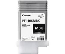 Cartridge Canon PFI106MBk, 6620B001, black, originál