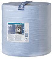 Tork Heavy-Duty průmyslová papírová utěrka, role, modrá, W1