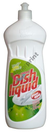 WD Prostředek na umývání nádobí Green apple 1l 2