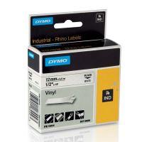 Páska Dymo 5,5m x 12mm, černý tisk/bílý podklad, 18444, S0718600