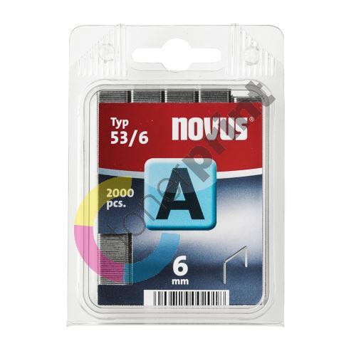 Spojovač Novus typ A 53/6, drátky, 2000ks 1