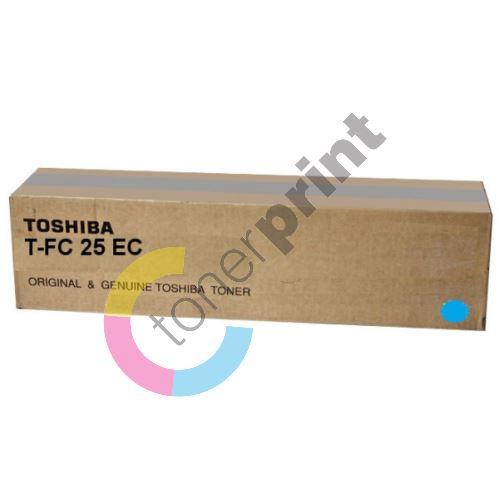 Toner Toshiba T-FC25EC, cyan, originál 1