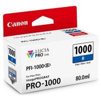 Cartridge Canon PFI-1000B, 0555C001, blue, originál