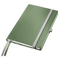 Zápisník Leitz STYLE A5, tvrdé desky, čtverečkovaný, zelenkavý