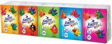 Linteo Kids kapesníky papírové třívrstvé 10 x 10 kusů