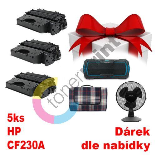 5ks kompatibilní toner HP CF230A MP print + dárek dle výběru 1