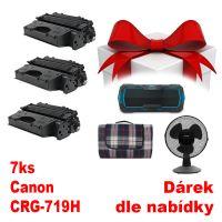 7ks kompatibilní toner Canon CRG-719H, MP print + dárek dle výběru