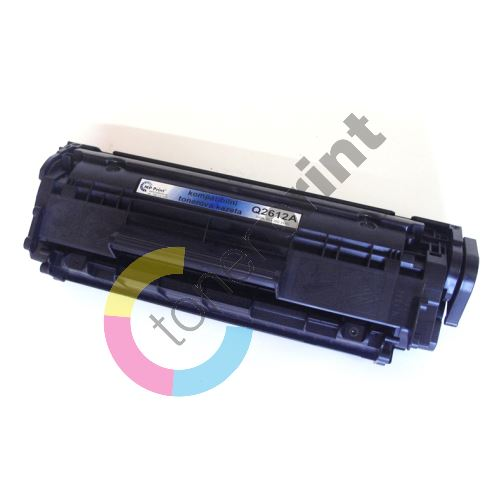 Toner HP Q2612A, black, renovace 1