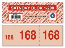 Šatnový blok ET295 1bal/200ks 4