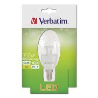LED žárovka Verbatim E14, 52638, 220-240V, 4.5W, 350lm, 2700k, teplá, 20000h