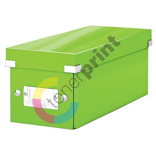 Archivační krabice na CD Leitz Click-N-Store WOW, zelená 1
