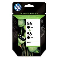 Cartridge HP 2-Pack, C6656AE No. 56, C9502A, originál