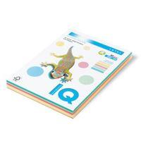 Barevný papír IQ T-RB Mix 5 barev A4 80g 1bal/250ks (ZG34, GO22, GR21, AG10, LA12)