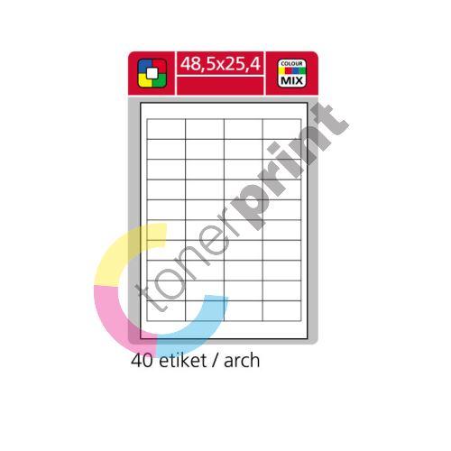 Samolepící etikety SK LABEL 48,5 x 25,4 mm 1