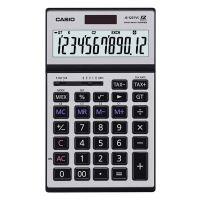 Kalkulačka Casio JS 120 TVS, stříbrná, stolní, dvanáctimístná