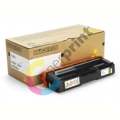 Toner Ricoh 407534, yellow, originál 1