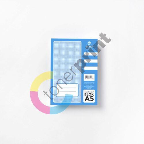 Bobo poznámkový blok A5, 50 listů, čistý 1