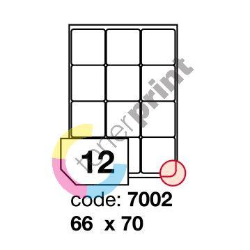 Samolepící etikety Rayfilm Office 66x70 mm 100 archů R0100.7002A 1