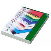Kartónové desky pro zadní strany CHROMO, A4, 250 g, zelená, 100 ks