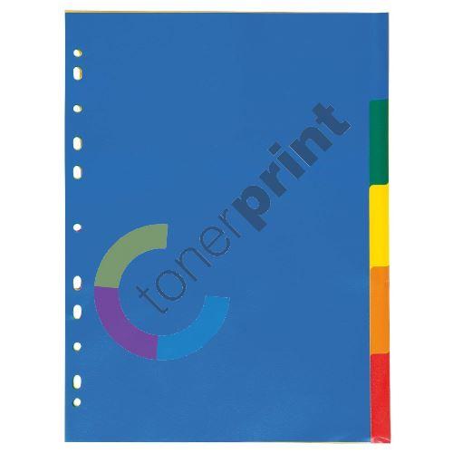 Rozdružovač A4 5 barev 2