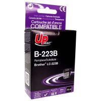 Cartridge Brother LC-223BK, black, UPrint