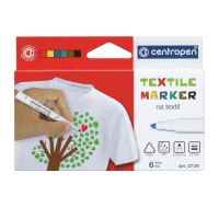 Značkovač Centropen 2739/6 ergo na textil