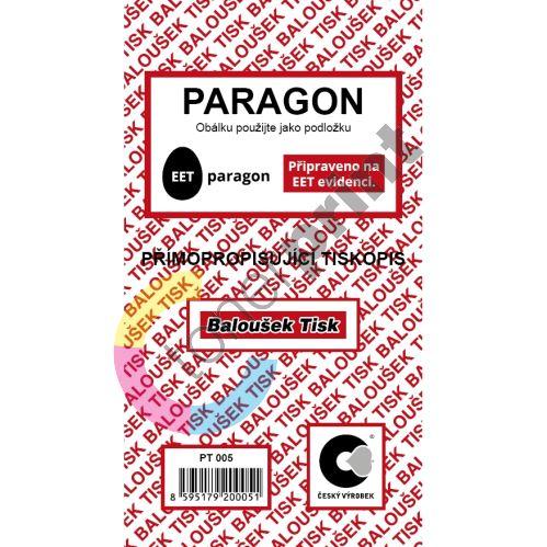 Paragon samopropis A6 PT-005/ 50 listů jeden blok 1