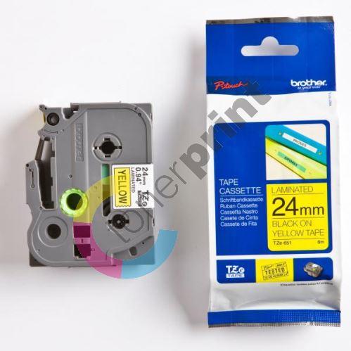 Páska Brother TZE-651 24mm 1