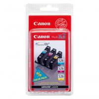Cartridge Canon CLI-526 CMY, 4541B006AA, originál