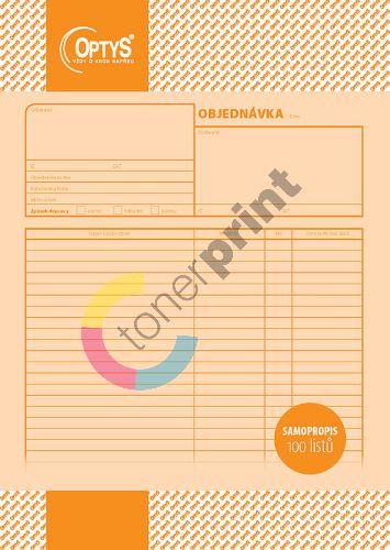 Objednávka A4, samopropisovací, 100 listů, OP1261 1